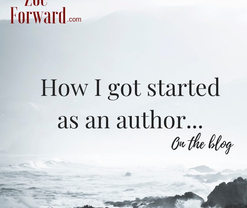 "How I became a ""real author""…"