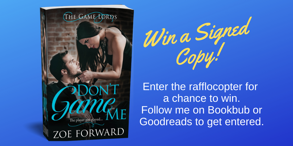 Signed Copy Giveaway